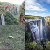 An Unbelievable Car Accident At Magwa falls in Eastern Cape Leaves A Lot Of People In Disbelief
