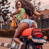Meet The Hottest Curvaceous Motor Ridder That Has Stunned The Net; Photos Drops