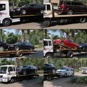Watch : 13 Vehicles Of A Pretoria Based Pastor Get Repossessed.