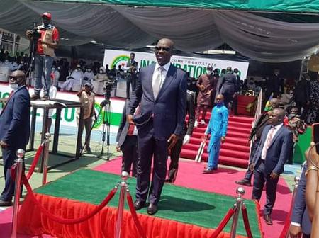 6 Epic Photos From Governor Obaseki Inauguration Ceremony That Took Place In Benin City Today