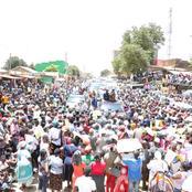 ''Kazi Nzuri Unayoifanya Rais Wetu Mtarajiwa'' Raila's Huge Crowd In Mwatate Is Hard To Ignore