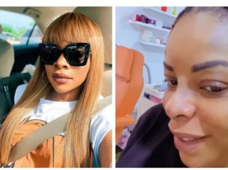 Laura Ikeji Shows Off Her New Nose After Undergoing Surgery