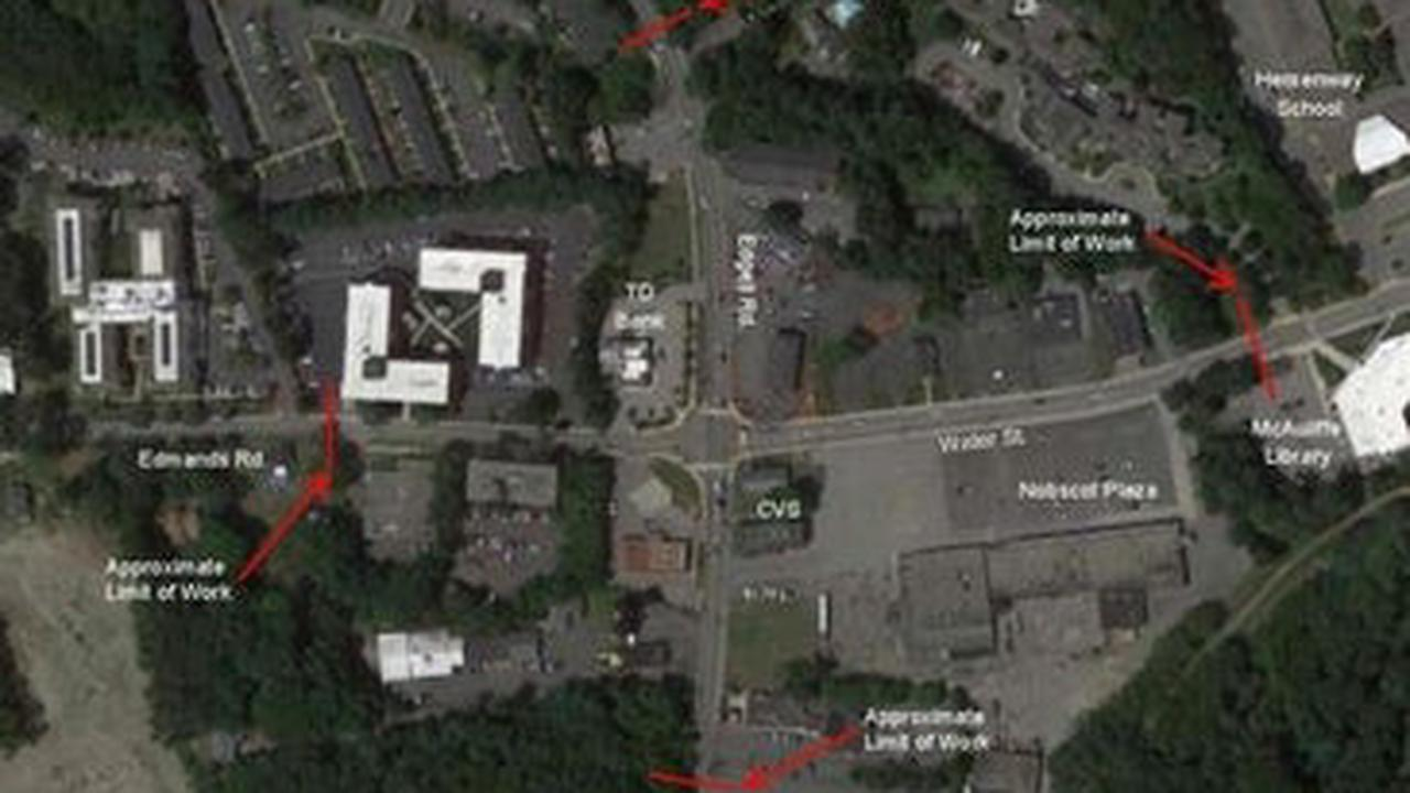 Framingham To Preview Major Nobscot Intersection Project