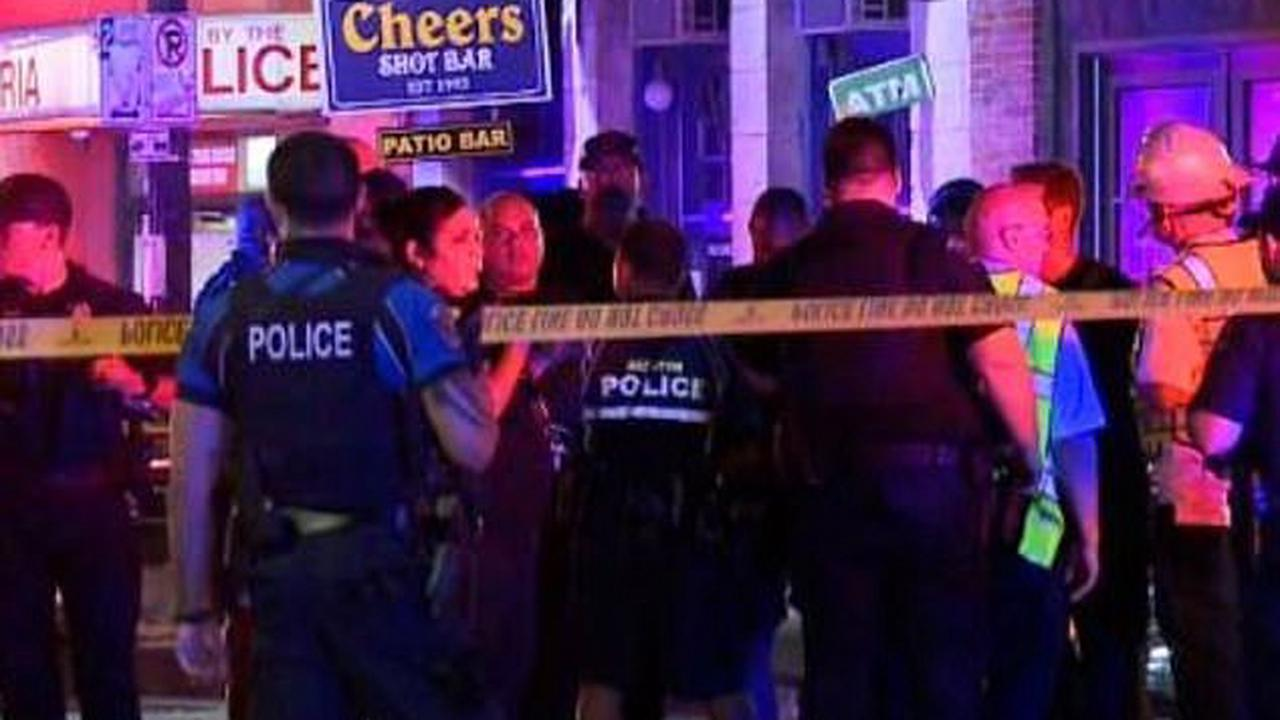 Four mass shootings in six hours across US leave six dead and dozens injured