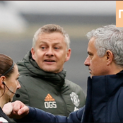 Ole Gunnar Solskjaer and Mourinho were arguing over Food after Man Utd beat Spurs-- See what happened