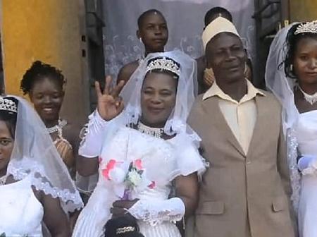 Meet Kenyan Man Who Married 2 Biological Sisters, He Has 4 Wives