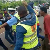 Just In: Mob Beat Up Police Soldier After Confrontation Over Bribe In Homabay County