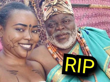 SAD: Burial Photos Of The Nollywood Actor Who Died After Grumbling Of Body Pain In January