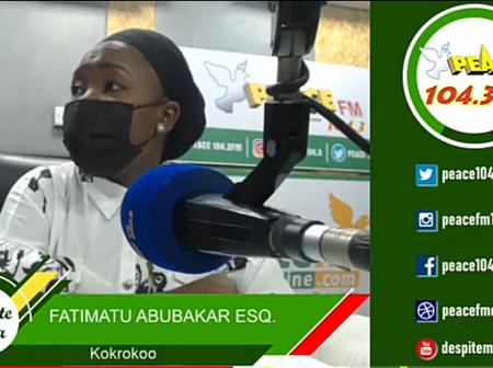 Too Much Grammar Won't Solve Your Case - Fatima Abubakar Teases Tsatsu Tsikata On Peace FM