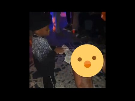 What is the world turning into! 6 years old boy getting lap dance from stripper