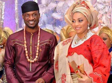 See Photos Of Nigerian Male Celebrities That Married Women Older Than Them.