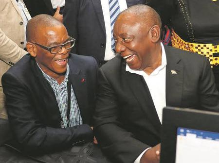 Ace Magashule is facing a storm once again!