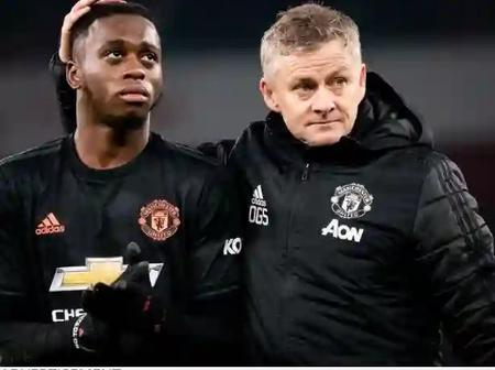 Manchester United player, Aaron Wan Bissaka is in trouble as he break the rules of the game
