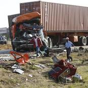 5 Children, 9 Others Killed As Dangote Truck Smashes Into Passenger Bus