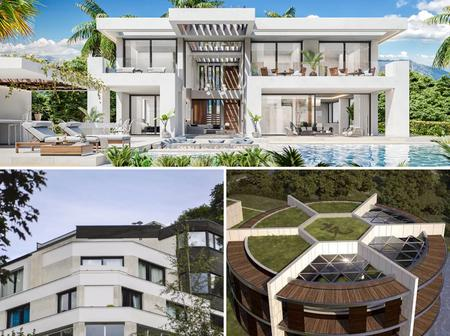 Between Ronaldo, Messi and Neymar who has the most beautiful house.