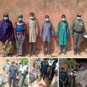 Fulani herdsmen Allegedly Got Arrested with Guns along Nigeria Border with Niger [Photos]