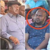"""Heri Raila"" Cliff Ombeta Leads Kenyans' Reactions as DP Ruto's Msambweni Man is Spotted Sleeping"
