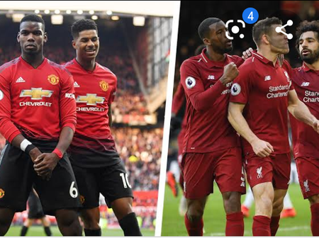 OPINION: 2 Reasons Why Manchester United team Is Better Than Liverpool.