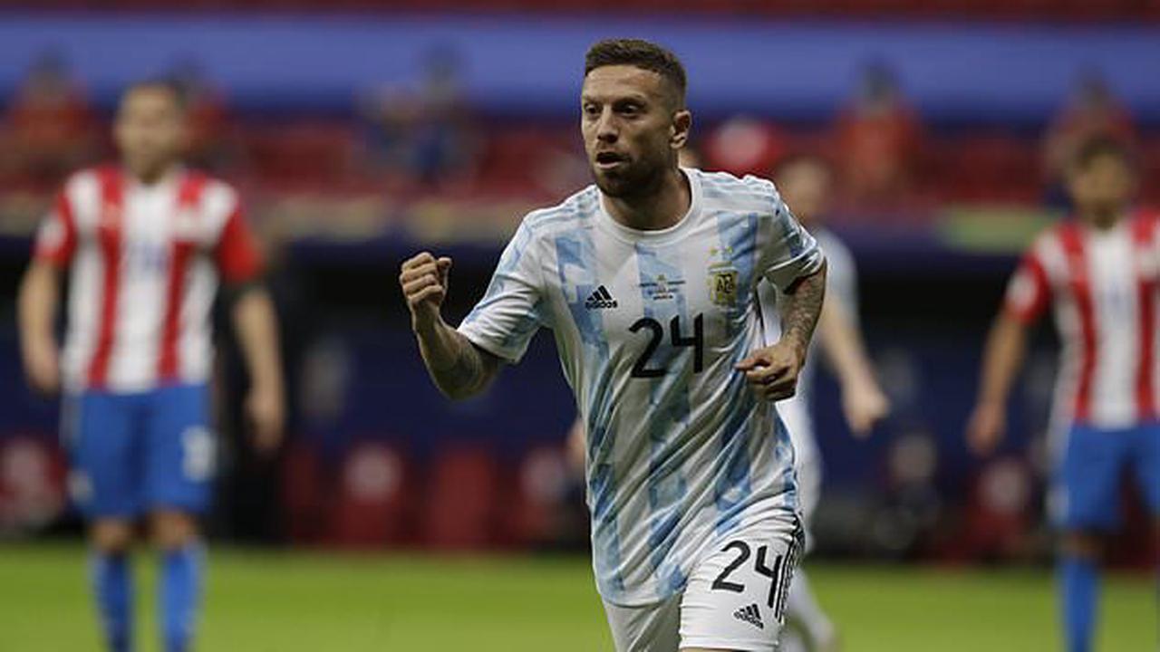 Argentina beats Paraguay, secures Copa America knockout spot