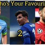 If You Were To Choose Between These 3 Football Stars: Who Would You Choose?