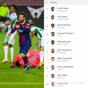 After Lionel Messi Scored 2 Goals For Barcelona, See Laliga Top Scorers Standing