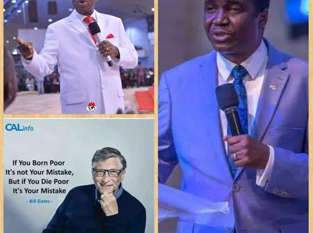 Checkout what Bishop David Abioye said about Bishop Oyedepo and Bill Gates
