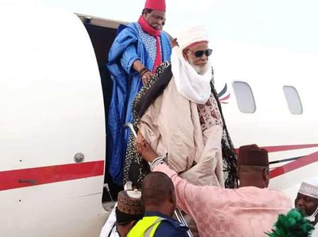 Sheikh Dahiru Bauchi Travels to kaduna Ahead of Ramadan [Photos]