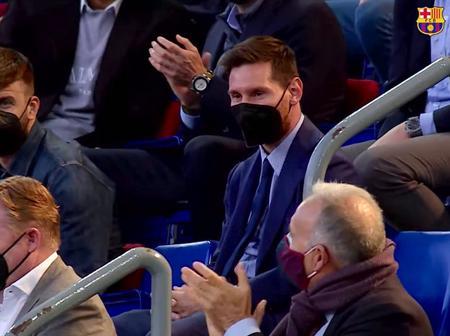 Joan Laporta on Messi staying at Camp Nou