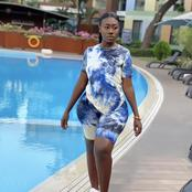 Cute: Popular Ghanaian lady stuns in beautiful photos