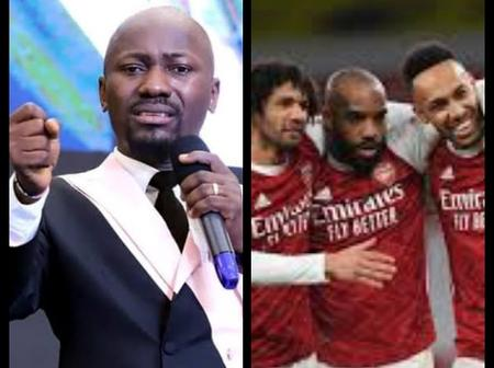 Apostle Johnson Suleman Blasts Arsenal Players After Being Held To A Draw By Slavia Prague