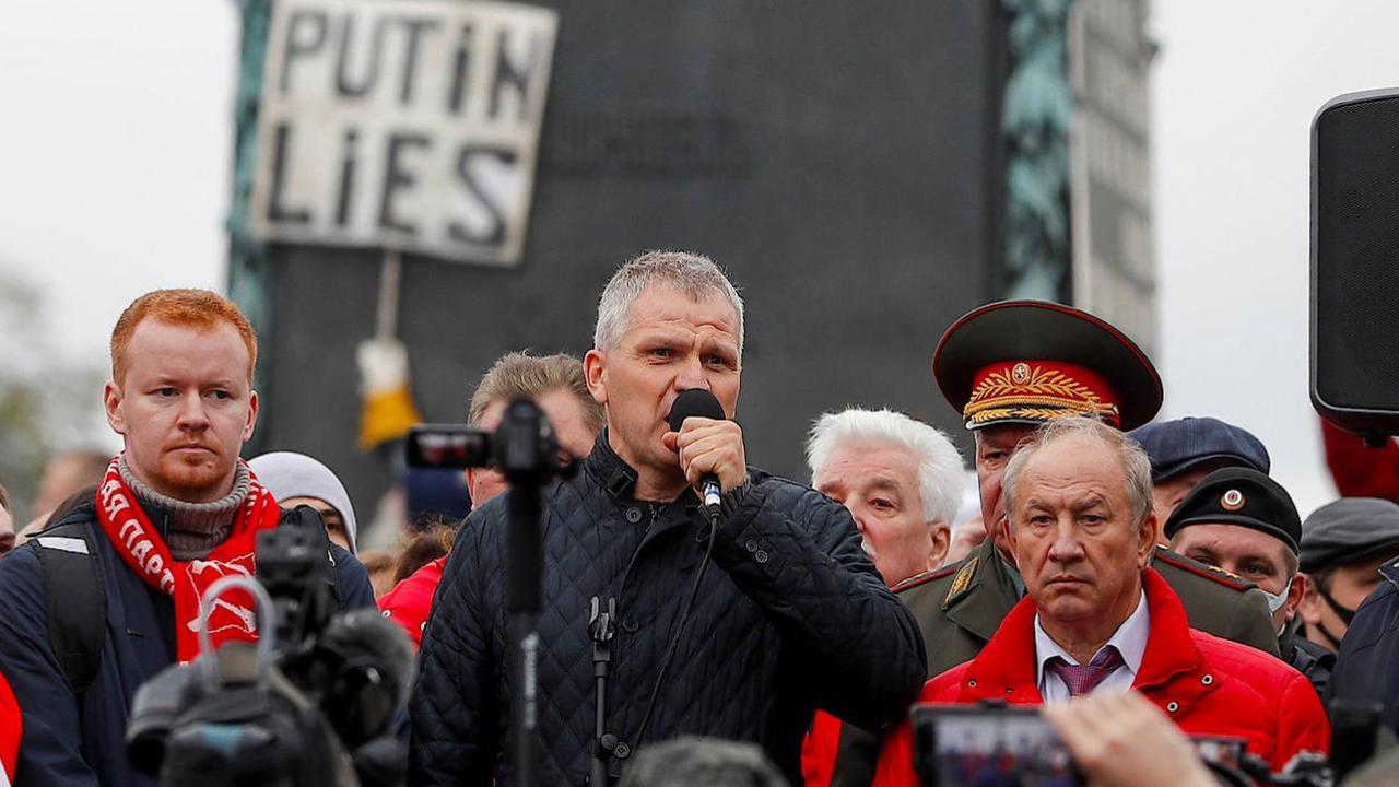 Protest in Moskau gegen Ergebnis der Duma-Wahl