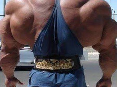 People who took body building gone wrong