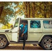 Fans React As Ike Poses  In G Wagon