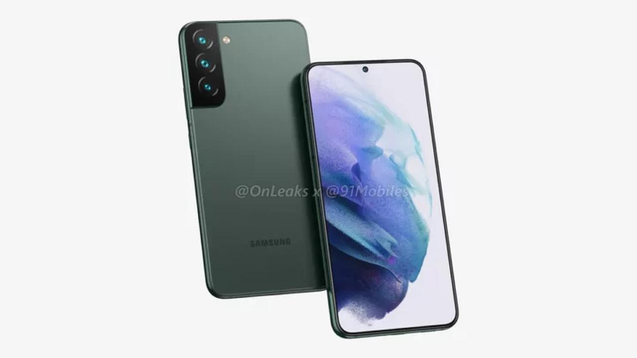 Samsung: Erste Render zeigen Galaxy S22 und S22+