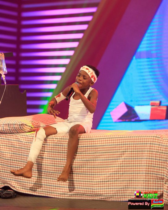 aa27b56ff76d435eb9c0bd1ad498bdad?quality=uhq&resize=720 - Talented Kids Contestant, Akwadaa Nyame Dumbfounds Audience After His Performance As Accident Victim