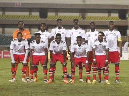 Harambee Stars Looking to Triumph in Their Second Friendly Match Toady Afternoon Versus Tanzania