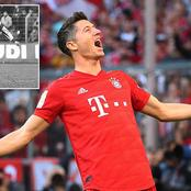 Lewandowski breaks 42-year record, Man Utd drops to second by defending champions and more news