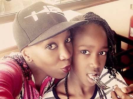 Wahu's Daughter Tumiso Angered By People Who Think She Doesn't Go To School, Says She's Homeschooled