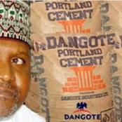 Dangote Group Finally Reply Those Calling Them Out For Selling bag of Cement Costlier in Nigeria