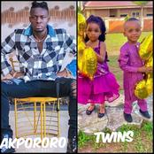 Reactions as Comedian Akpororo flaunts his adorable twins as they turn a year older today.