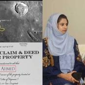 Man Buys Land On Moon As Wedding Gift For Wife.