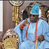 Reactions As Oba Of Lagos Reveals He Kept $2Million In His Palace