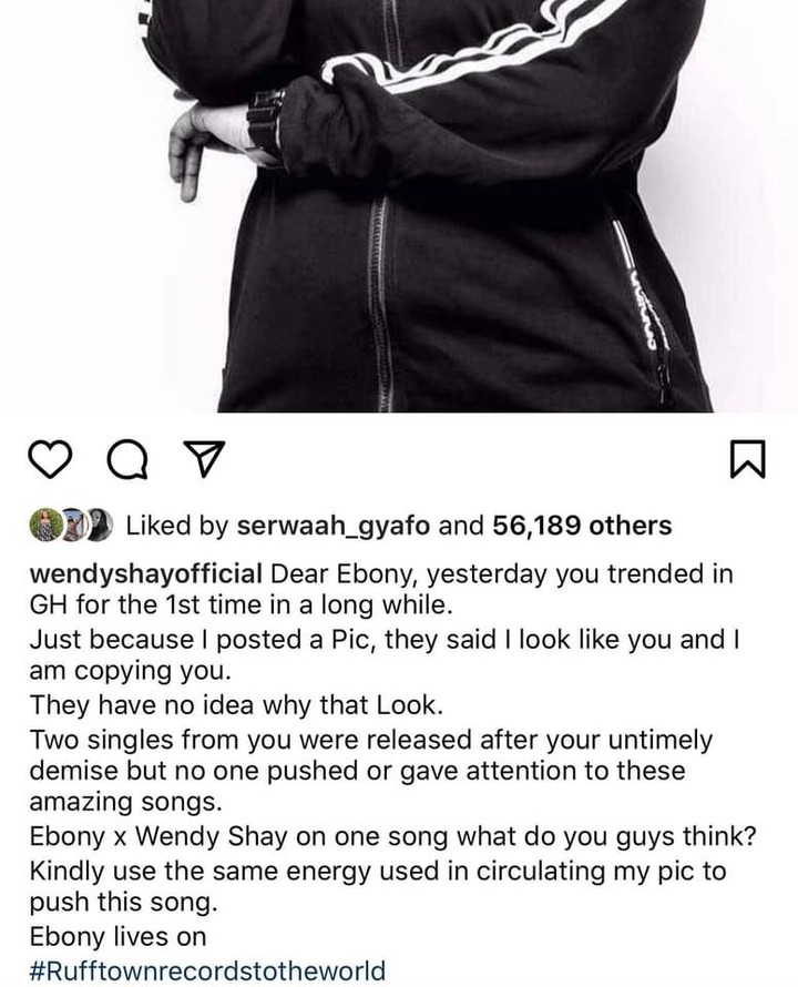 aa69be0fdb9fec7f6db41ff40aa2ef15?quality=uhq&resize=720 - Wendy Shay React After Receiving Backlash For Coping Ebony's Looks In Latest Photo