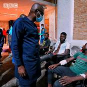 #Endsars: Check out What Gov Sanwo-Olu Said When he visited Injured Protesters at the Hospital