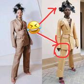 """""""When A Village Girl Dresses Like Rihanna For The First Time""""- Checkout These 10 Funny Pictures"""