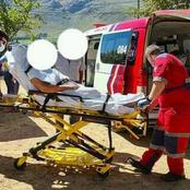 4 Black men attack an elderly white woman in farm attack this morning.