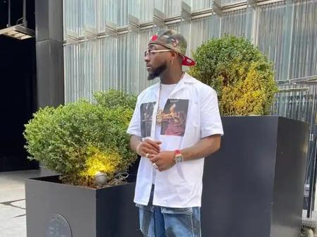Davido Arrives New York City, Check Out What He Said After His Arrival That Sparked Reactions