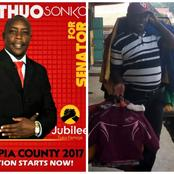 How Sonko, A Senate Aspirant, Turned to Hawking After Spending Millions on Campaigns