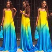 Checkout Some Beautiful Chiffon Gown Styles