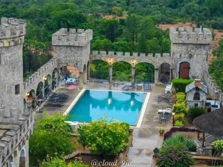 Rather than travel abroad for a vacation, visit this amazing castle in Kaduna (Photos)
